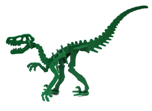 NEW [ HATCHLINGS ] 3D Animal Puzzle Moe the Velociraptor - 7 Color Options