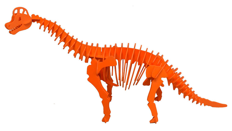 3D Dinosaur Puzzle - Brachiosaurus- Komatex PVC - 9 Color Options