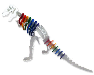 [Standard] SPECIAL EDITION 3D Dinosaur Puzzle - Larry the Tyrannosaurus Rex - RAINBOW