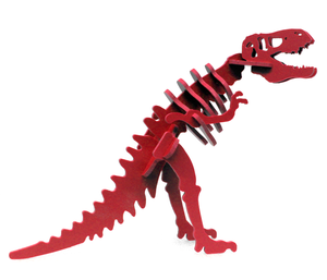 NEW [ HATCHLINGS ] 3D Animal Puzzle Larry the Tyrannosaurus rex - 7 Color Options