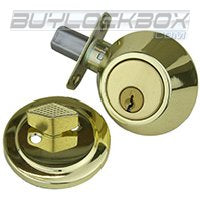 Contractor Grade Keyed Alike Single Cylinder Deadbolt