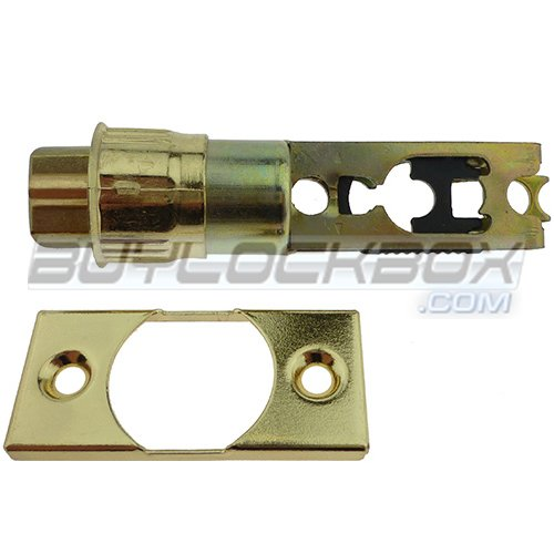 4-Way Adjustable Tubular Entry Door Knob Latch