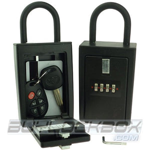 4 Number Combination Key/Card Storage Lock Box