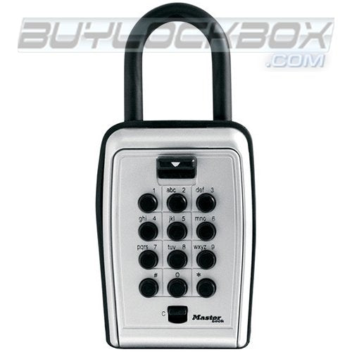 Master Lock Safespace 5422D Portable Push Button Key/Card Storage Lock Box