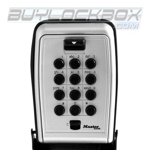 Master Lock Safespace 5423D Wall Mount Push Button Key/Card Storage Lock Box