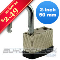 "2"" Keyed Alike Padlock"