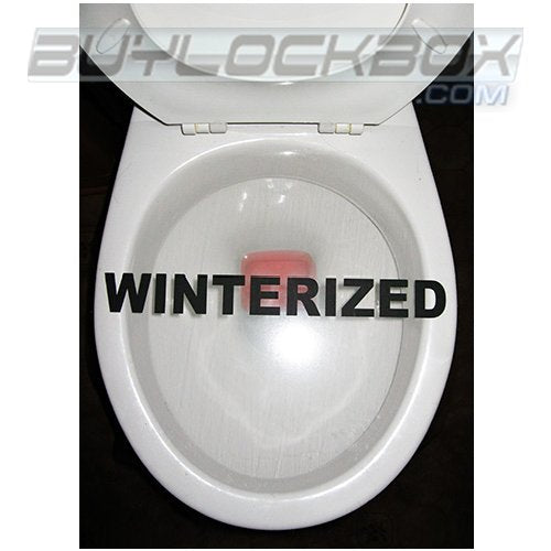 Winterization Toilet Wrap (5 Pack)