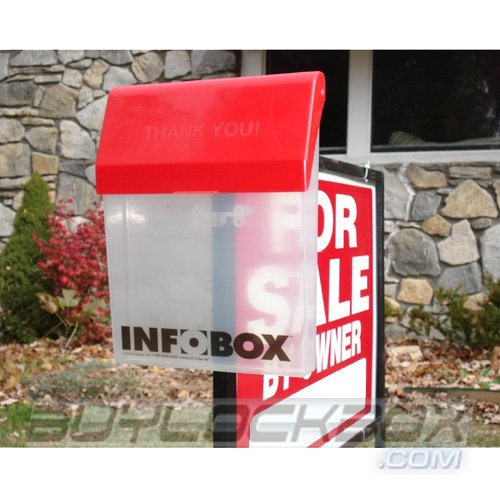 InfoBox Real Estate Brochure/Flyer Holder