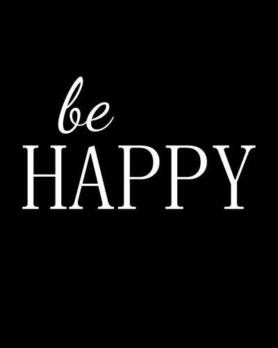 Be happy - Farblix