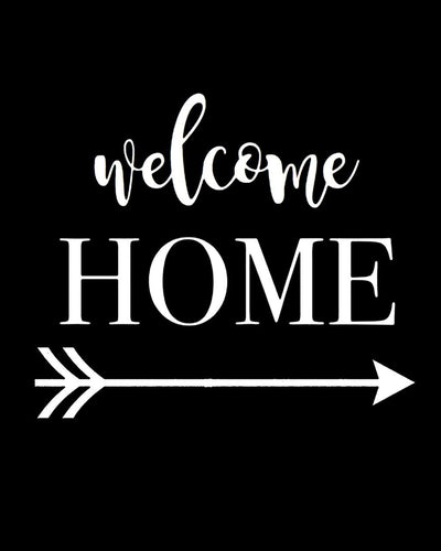 Welcome Home - Farblix