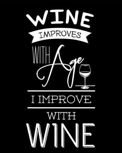 Wine Improves with Age ... - Farblix