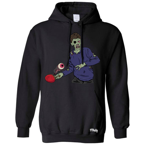 Table Tennis Zombie Hoodies