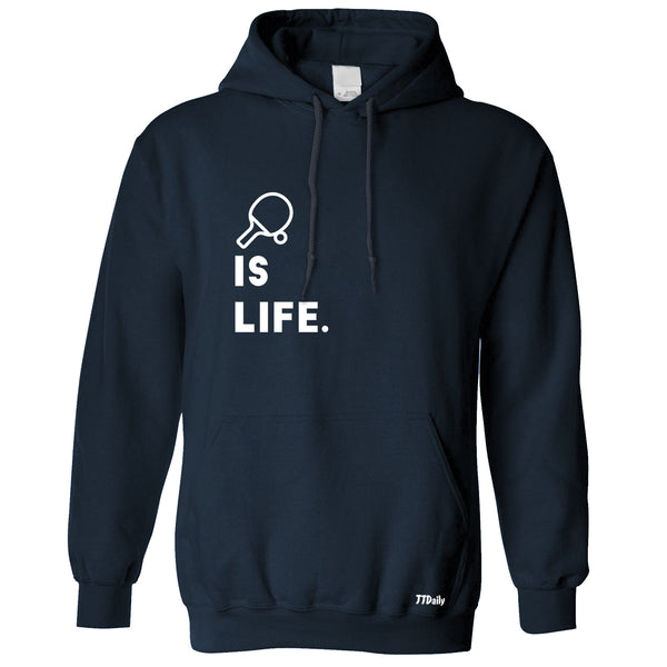 Table Tennis Is Life (With Bat) Hoodie