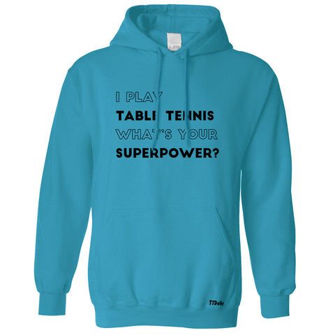 Superpower Table Tennis Hoodie