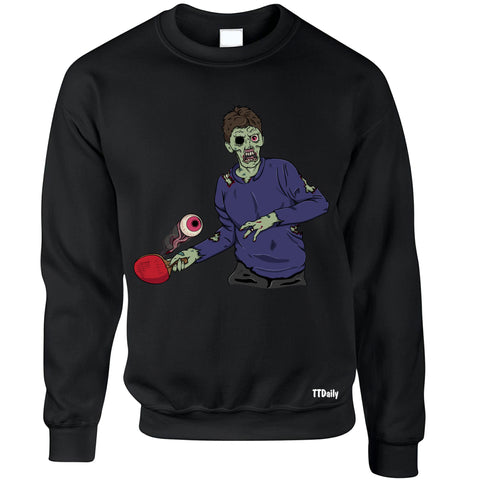 Table Tennis Zombie Sweatshirts/Jumpers