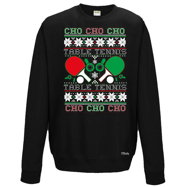 Christmas Table Tennis Jumper