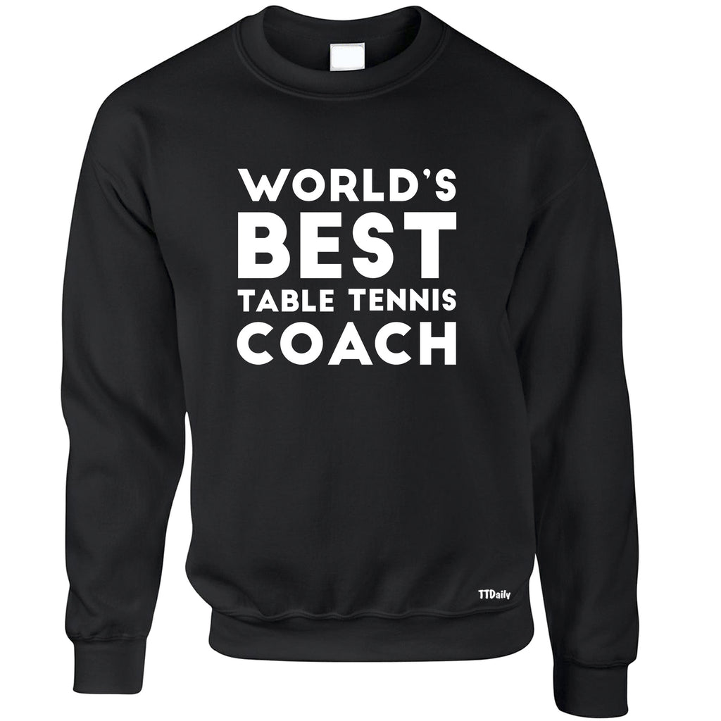 World's Best Coach Sweatshirt