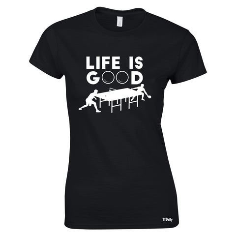 Life Is Good Women's T Shirt