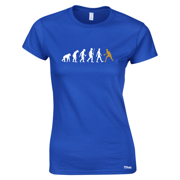 The Evolution of Table Tennis Women's T Shirt