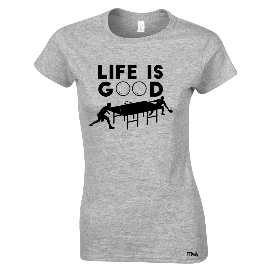 Keep an optimistic eye on the prize with Life is Good Clothing and t-shirts. In a wide range of colors, styles, and sizes Life is Good t-shirts stay constant with a positive message. Appreciate what you've already got and keep striving for something better.