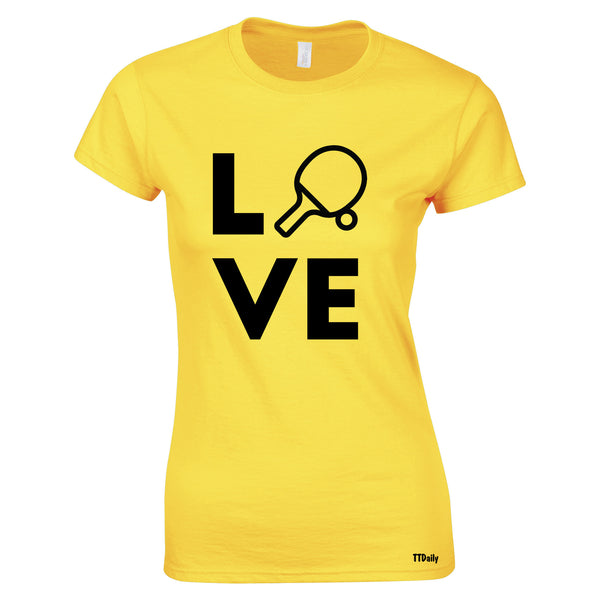 Love Womens T-Shirt