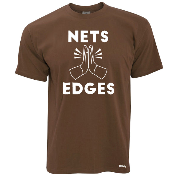 Nets Edges Mens T-Shirt