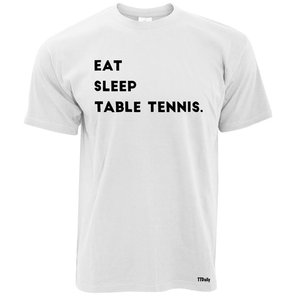 Eat Sleep Table Tennis Mens T-Shirt