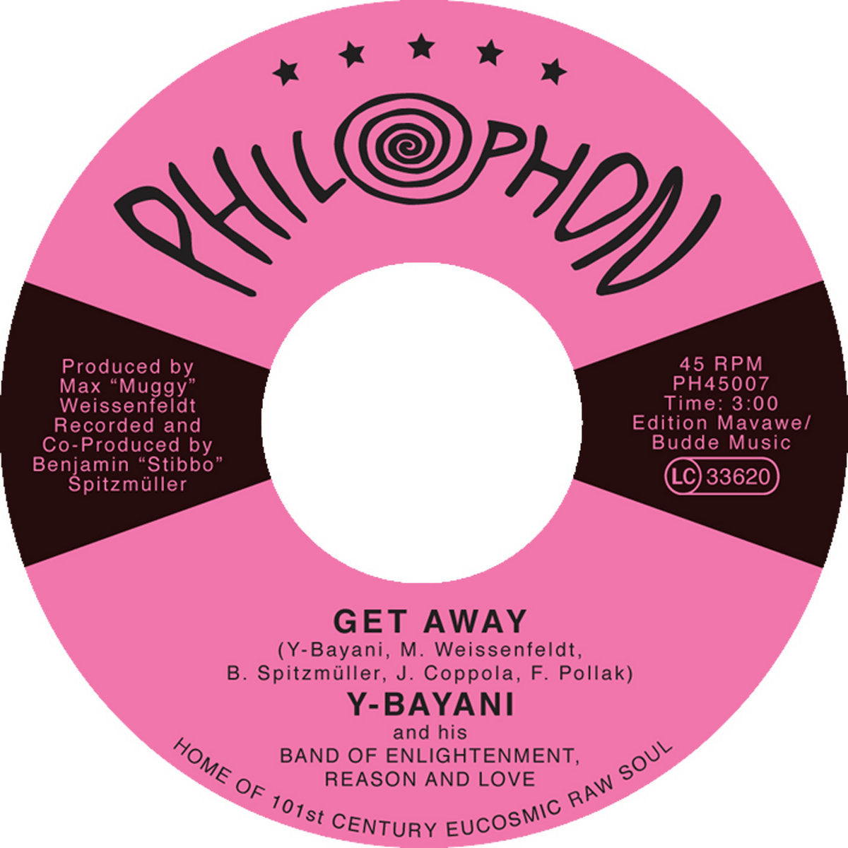 Y-BAYANI & BABY NAA And The Band of Enlightenment, Reason & Love - Get Away