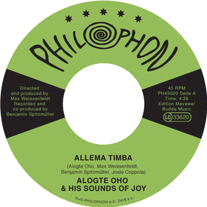 ALOGTE OHO and his Sounds of Joy - Allema Timba