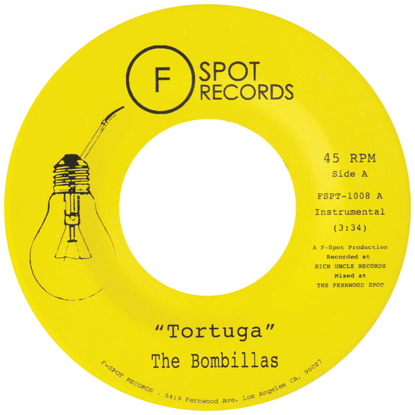 THE BOMBILLAS - Tortuga b/w Kings Ups