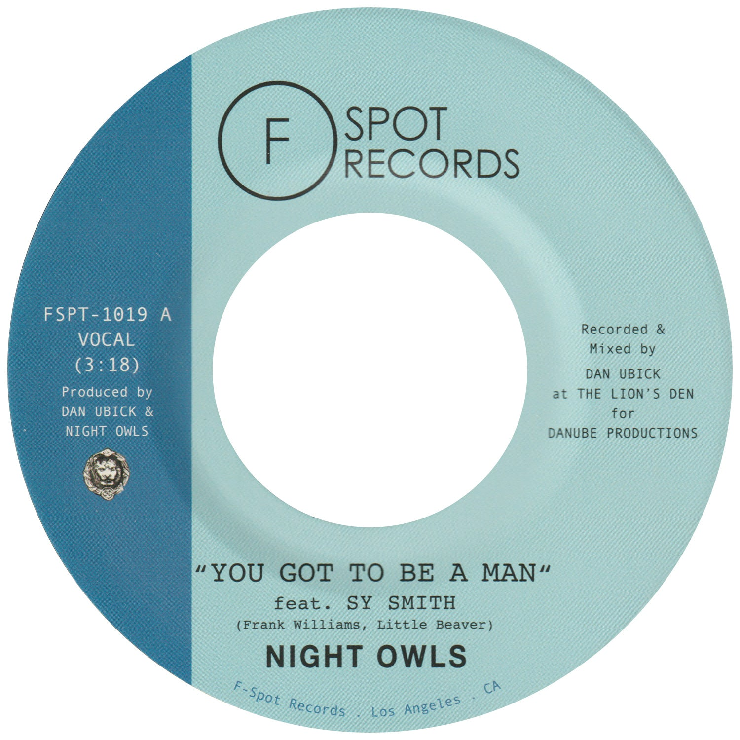 NIGHT OWLS - You Got To Be A Man (feat. Sy Smith) / Gimme Little Sign (feat. Chris Dowd)