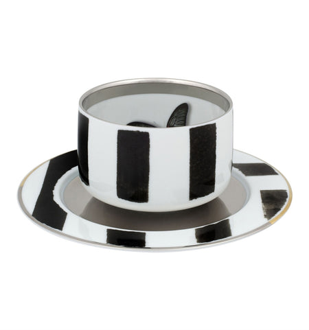 Sol y Sombra By Christian Lacroix for Vista Allegre TeaCup & Saucer