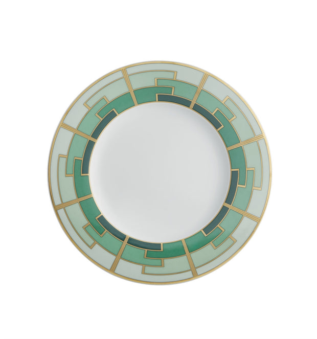 Emerald Salad Plate By Vista Allegre