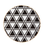 Carrara Marble /Chevron Charger By Vista Alegre