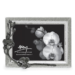 Black Orchid 5x7 Frame By Michael Aram