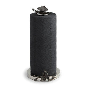 Black Orchid Paper Towel Holder By Michael Aram