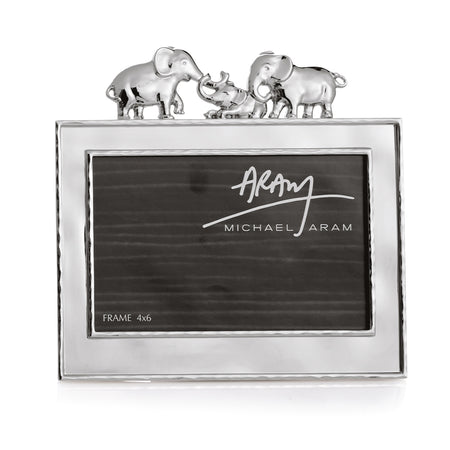 Elephant 4 x 6 Picture Frame By Michael Arm
