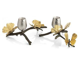 Butterfly Gingko By Michael Aram Candleholders, Set of 2