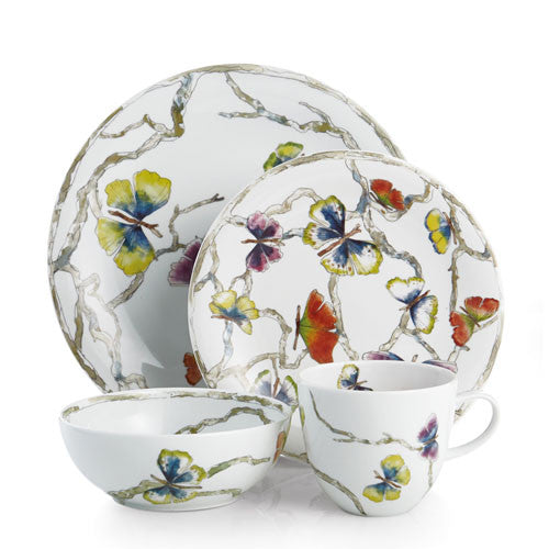 Butterfly Gingko Dinnerware 4 Piece Place Setting By Michael Aram