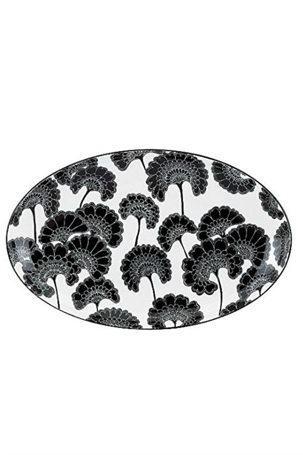 Japanese Floral Platter By Kate Spade
