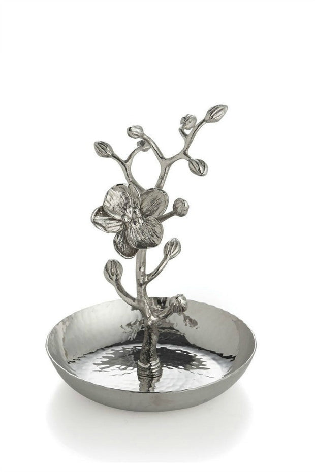White Orchid Ring Catcher By Michael Aram