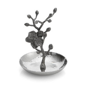 Black Orchid Ring Holder By Michael Aram