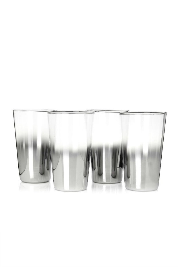 Shadow Highball Glasses By Artland, Set of 4