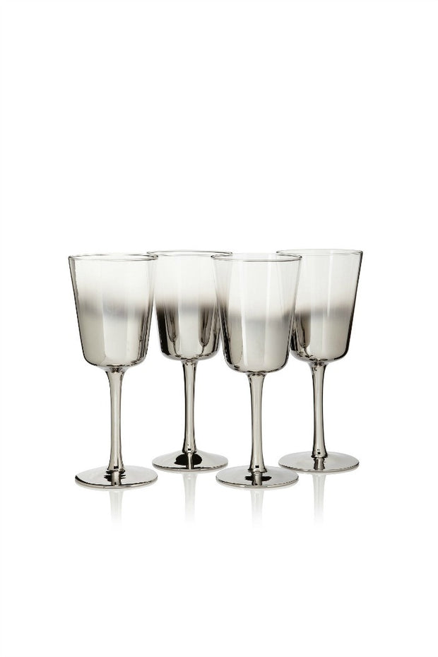 Shadow Wine Glasses By Artand, Set of 4