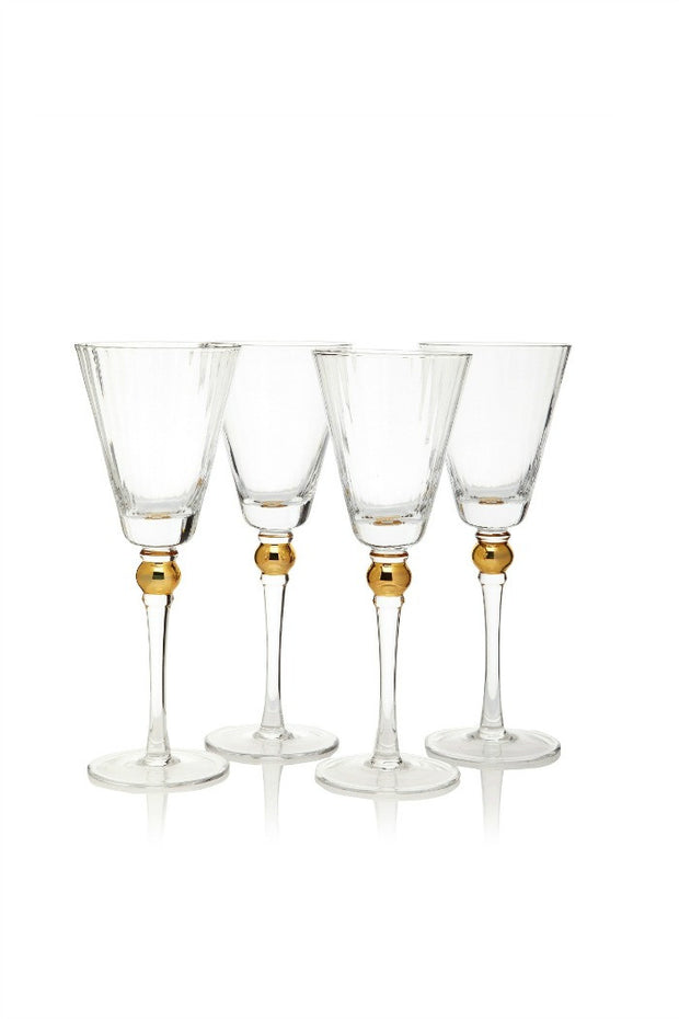 Jewel Wine Glasses, Set of 4 By Artland