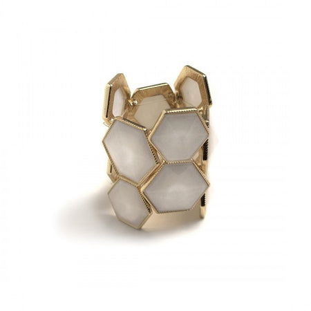 Hexagon Napkin Ring By Julian Mejia