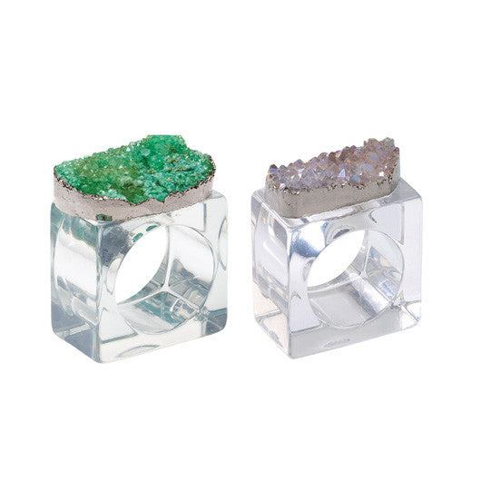 Rock Crystal By Kim Seybert Napkin Ring
