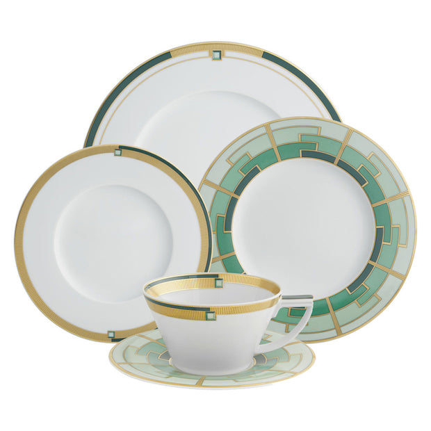 Emerald 5 Piece Place Setting By Vista Allegre