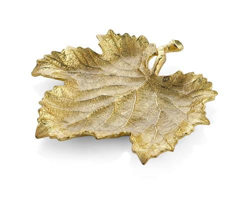 New Leaves By Michael Aram Grape Leaf Snack Plate