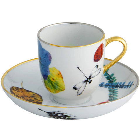 Caribe Cup & Saucer By christian Lacroix for Vista Alegre